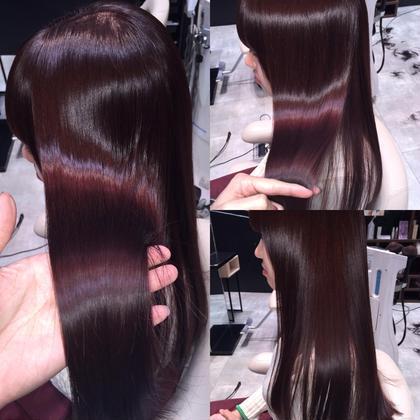 カラー セミロング ロング ツヤ髪❤︎ イルミナカラー❤︎