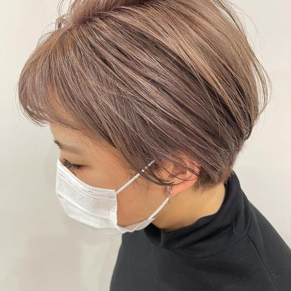 カット➕『アディクシー』カラー➕髪質改善潤いTR→¥6600