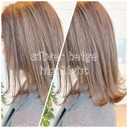 綺麗なまま髪を伸ばしたい方!選べる透明感カラー+髪質改善カット+極潤髪質改善トリートメント付き