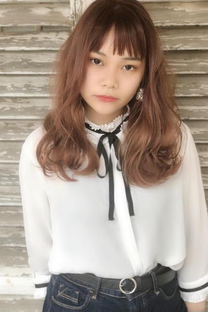 【初回】 🏝前髪カット+TOKIOフルカラー🏝  イルミナカラー アディクシーカラー 透明感 ブリーチトリートメント
