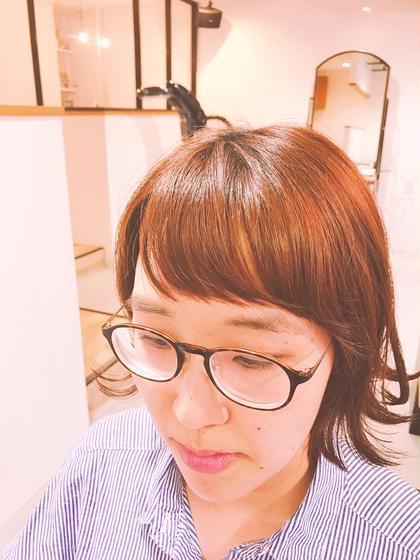 ショート 短め前髪☆