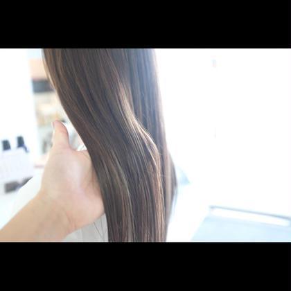 夜モデル限定💫SNS話題髪を痛めない酸性ストレート】🍀『酸性ストレート+カット+髪質改善トリートメント』
