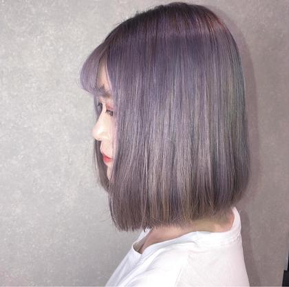 《韓国好き多数来店》韓国風カラー+補修トリートメント (ホームケアセット付き)