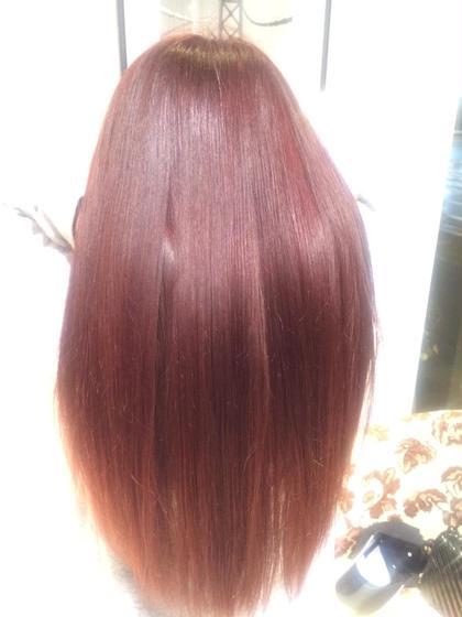人気カラー ワインレッド♪ HAIR&MAKE    EARTH横浜店所属・EARTH横浜店のスタイル