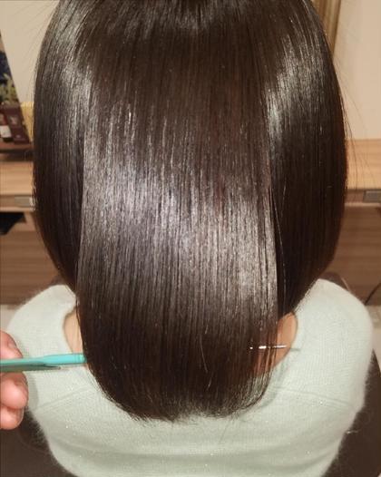 ⭐️🌈4月限定🌈⭐️拡がりを抑えたい方にオススメ🙆縮毛矯正ナチュラル+CMCトリートメント