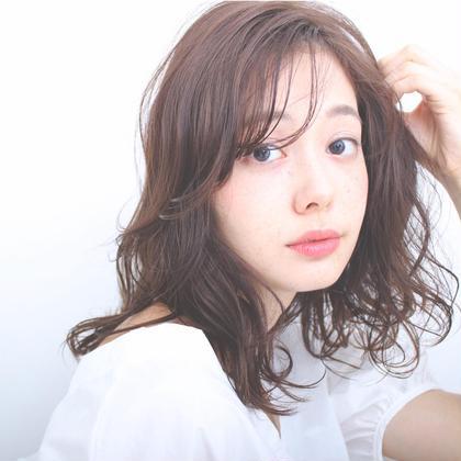 【柔らかふんわり♡】カット+ 低温デジタルパーマ