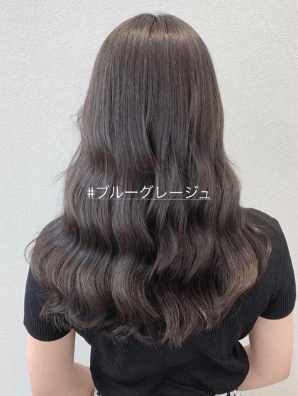 韓国スタイル/ブルーグレージュ