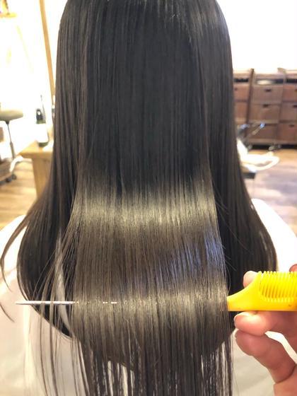 【極上ケア】梅雨前ストレートキャンペーン!!髪質改善トリートメント+似合わせカット