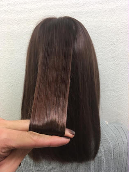 髪質改善✨艶重視✨ 💘髪質改善No1.LetizbyONE's💘所属・⭐️髪質改善美容師スズキカノト⭐️のスタイル