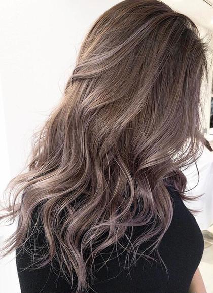 ダメージレス艶やかヘアカラー+毛髪改善トリートメント