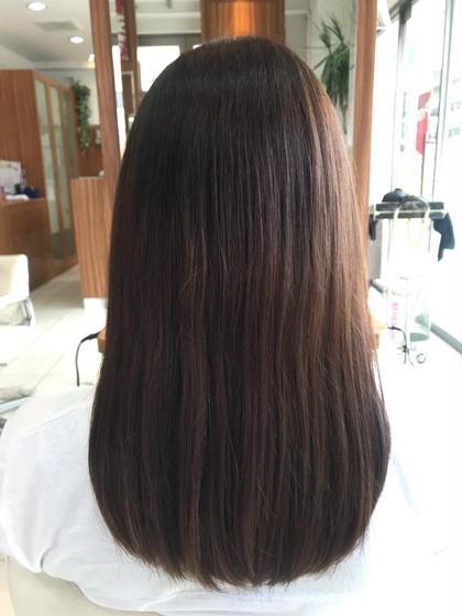 🍇秋先取りカラー🍇髪から秋っぽさとりいれちゃいましょ💜ワンカラー2300💜