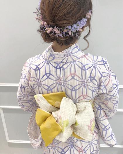 ❣️浴衣着付け+ヘアアレンジ(アレンジ帯可)❣️