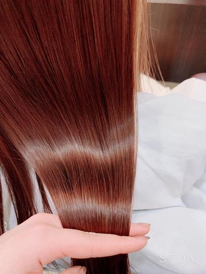 カラー+髪質改善トリートメント💫艶髪に💫
