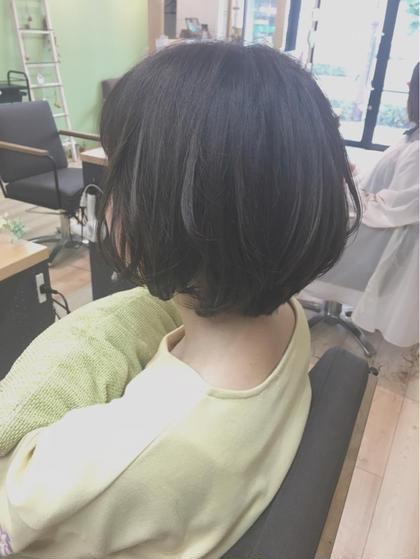 ショート EIGHT plat渋谷所属・鷲頭祐未のスタイル