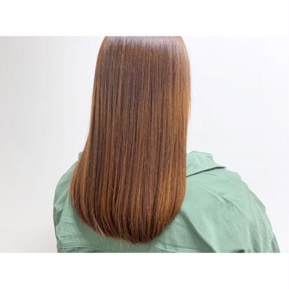 【憧れの艶髪☔️】柔らかストレート+カット+リペアトリートメント