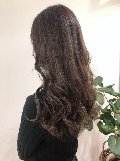 ❤️【🌟人気NO.1🌟】カット+カラー+髪質改善トリートメント