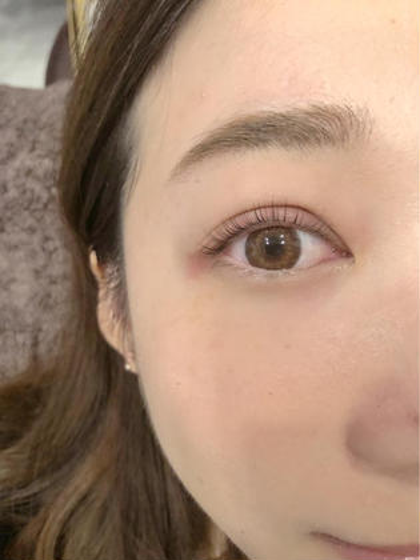目の形に合わせたパーマデザイン⭐️ 栗原開菜の