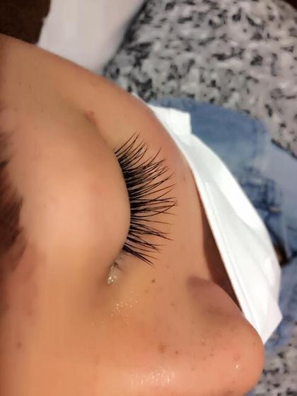 【Cカール】pretty eye  目頭、目尻 11mm 中間 13mm  太さ 0.2 ルアリー 渋谷所属・菱山佳則のフォト