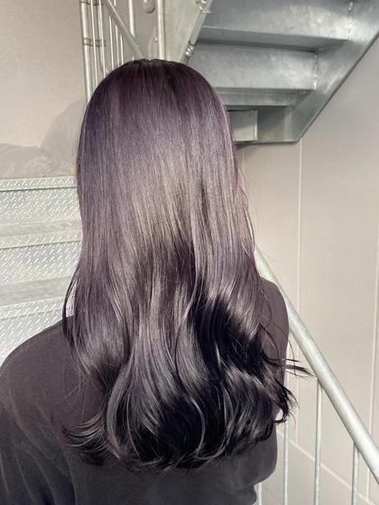 ♡暗髪専用クーポン♡ カラー+髪質改善トリートメント✨暗めカラーと髪質改善で艶々で垢抜けた自分に☁️