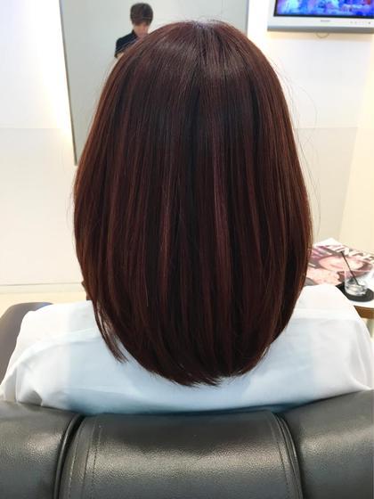 pink beige 日焼けしやすい夏だからこそヘアカラーと肌色の相性は大事!似合う色を必ず見つけます。 uka TokyoMidtown所属・石井剛史のスタイル