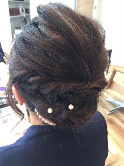 シンプルなアレンジ。 Hair Design D.c.t所属・平田秀一のスタイル