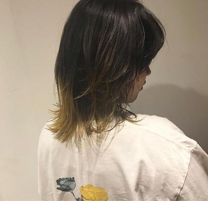 《初回限定🦓》イメチェン✨point裾カラー