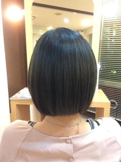 カット & 髪質改善ストレートトリートメント