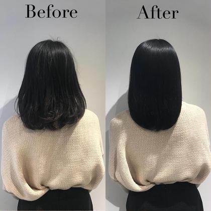 ・髪が綺麗にまとまらない。  ・切っても切っても毛先がパサつく。  そんな髪を綺麗にするためにご来店されたお客様♡  なんと使う ホームケア を変えただけでこの仕上がり♪  本当に 自分の髪に合ったシャンプー を使えば  乾かすだけ でここまで綺麗になるんです♡  https://nozomuu.themedia.jp ヘアケア人気No.1NOZOMUのミディアムのヘアスタイル