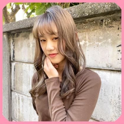 【✂︎】大好評❣️メンテナンスcut+ダメージレスケアカラー+髪質改善グロスアップトリートメント