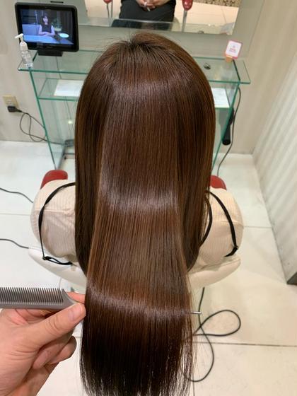 髪質改善トリートメント+カラー☆