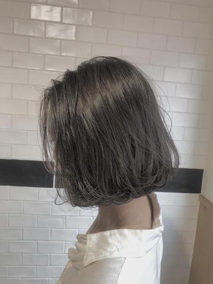 💫最高峰アディクシーカラー&グローバルミルボントリートメント&前髪カット