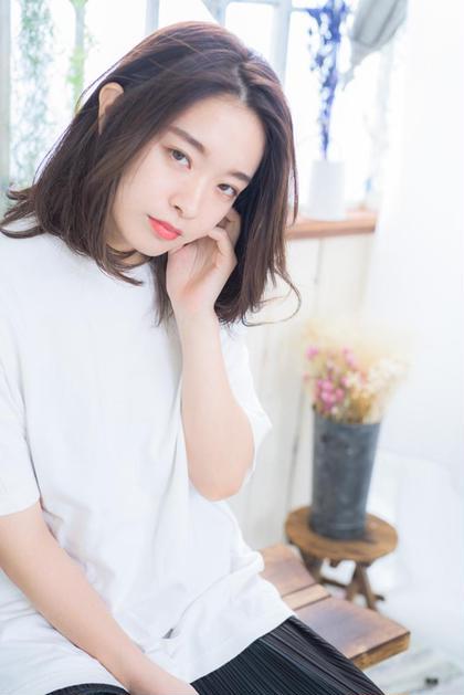 🌟人気No.1✨カット+透明感のあるアディクシーカラー+トリートメント【白髪染めに変更もOK!】