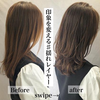髪質改善🌹美髪チャージ型💭カット+サイエンスアクアinイルミナorアディクシー+TOKIOトリートメント✨