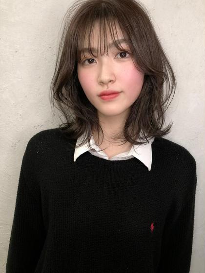 ☆大好評前髪カット☆シースルーバング、厚めバングご相談ください☆+巻き髪☆⚠️問い合わせ予約のみ