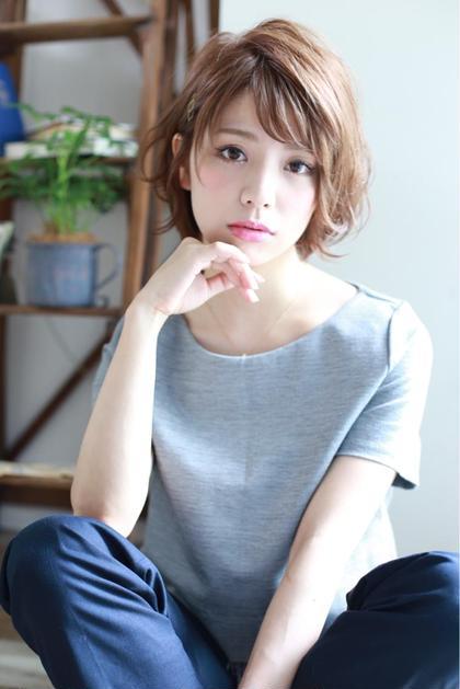 中野勇輝のショートのヘアスタイル