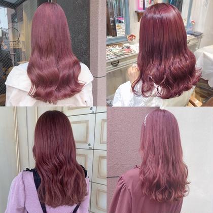 🎀ロング料金無料🎀人気NO1☝🏻💖透明感カラーと髪質改善トリートメント♡コテ巻きもサービス👱🏻♀️💞