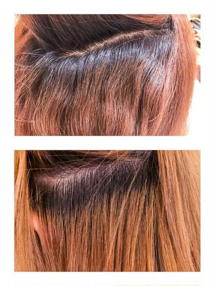 ハーフでクセの強いお客様の縮毛矯正。 キレイにのびました!! Hair WorkPROGRESS所属・内海茜理のスタイル
