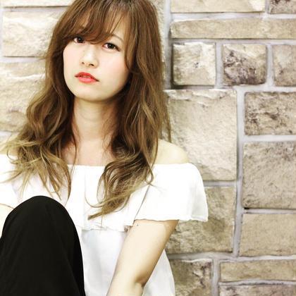 撮影モデルさん募集(´ ˘ `๑)♡ Hair&MakeZEST吉祥寺店所属・ホワイトベージュAZEのスタイル