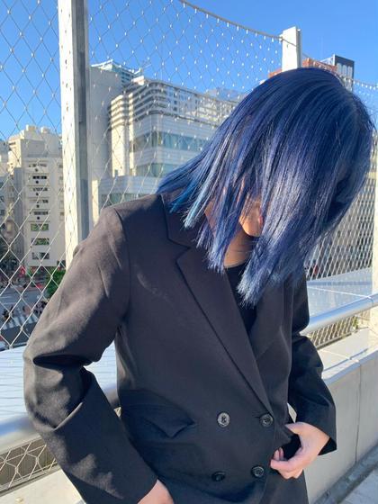 【モデル料金】ブリーチ+オンカラー+TOKIOトリートメント