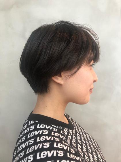似合わせカット + 【白髪もしっかりカバー】オーガニックカラー + ナノトリートメント