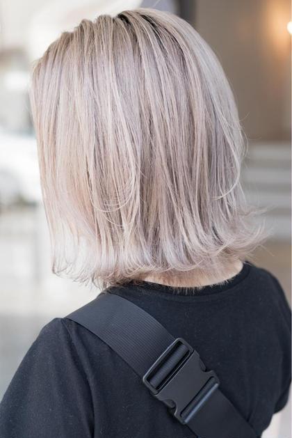 【ブリーチ=傷むはもう昔の話🌹】全体ケアブリーチカラー✨+髪の美容整形トリートメント