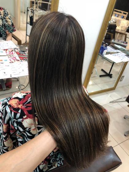 カラーリスト★今村優太のセミロングのヘアスタイル