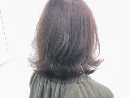 ブリーチなしでも良い感じの透明感♡ 隠し味にラベンダーバイオレットをon  【¥3500】 bluefaces所属・saitoteiのスタイル