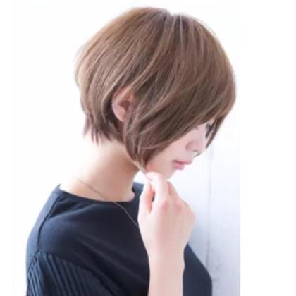 佐藤渚のショートのヘアスタイル