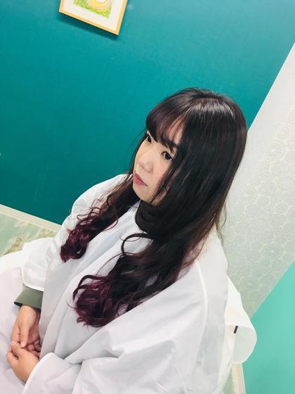 [前髪]P縮毛矯正( Cut➕Sh➕ヘアマスク)