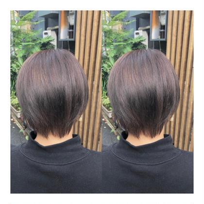 ピンクパープル🎀綺麗なカラーに✨ 髪に優しいカラー剤での施術なのでカラー剤特有の匂いも少なくダメージも最小限に^_^ 山本甲輔🔥カラーリスト🔥の
