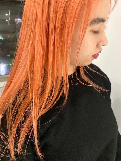 薄ーいオレンジカラーもかわいいっ!!🍊🧡