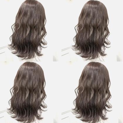 💗透明感カラー➕髪質に合わせたシャンプー➕4stepハホニコオリジナルさら艶トリートメント💗