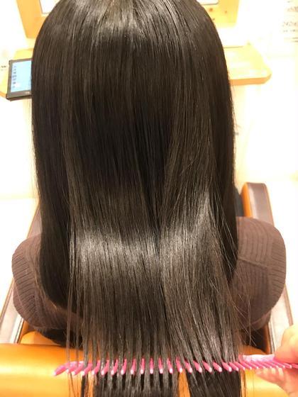 5月 カット 髪質改善トリートメント