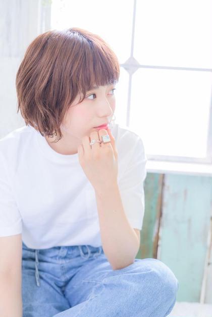 ルーズな外ハネパーマです☆ ネオリーブティアラ所属・坂田友梨奈のスタイル